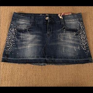Denim Skirt Size 7